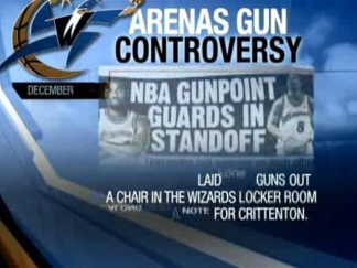 Arenas Charged In Gun Probe