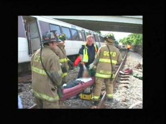 D.C. Fire's Fatal Metro Crash Video