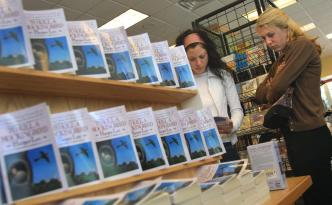 Dozens Gather in Virginia to Protest Ban on Classic Books