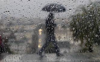 Rain, Wind Make for Miserable Day in DC Area