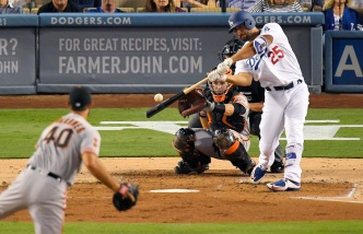Dodgers' Segedin Sprints Off Field to Welcome Baby Boy