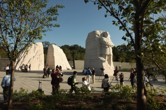 Smaller Scale MLK Memorial Dedication Sunday