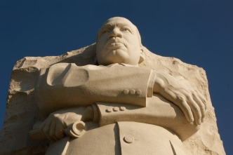 Scaled-Down MLK Dedication Is Still Star-Studded