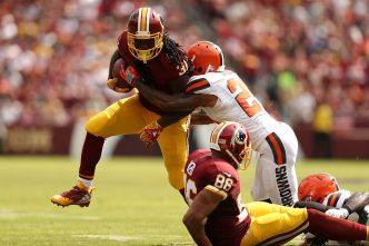 Redskins Thrive in Red Zone to Beat Browns 31-20