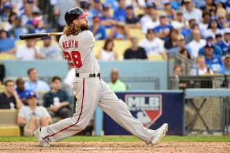 Nats Beat Dodgers, 8-3, Take 2-1 Lead in NLDS