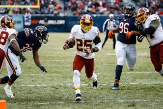 Redskins Keep Playoff Hopes Alive, Beat Bears