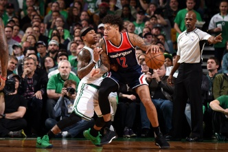 Wizards' Oubre Suspended, Miss Game 4 of Wizards/Celtics