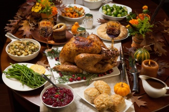 Olympians' Favorite Thanksgiving Dishes