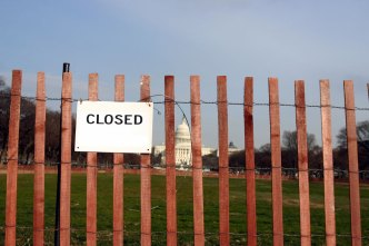 D.C. Girds for Possible Federal Shutdown