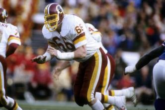 Redskins OL Joe Jacoby Named Finalist for Football HOF