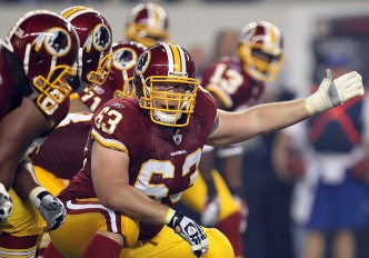 Revolving Door on Redskins O-Line