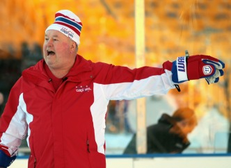 Winter Classic Notebook: Coach in Awe; Players Star-Struck