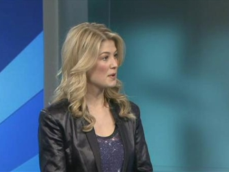 Hollywood In DC: Rosamund Pike Previews Barney's Version