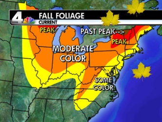 Your Fall Foliage Update