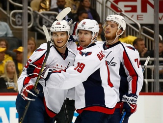 Caps Force Game 7, Beat Pens 5-2
