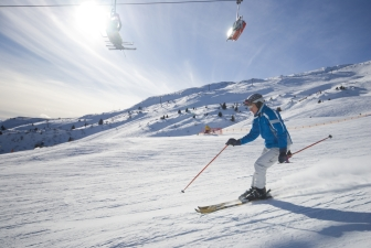 1st-Time Skiers Luck Out at Bryce Resort