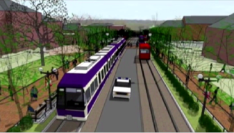 Purple Line On Hold; Frustration, Relief Surround Project