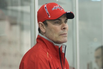 Oates Enjoys First Day on Ice as Head Coach