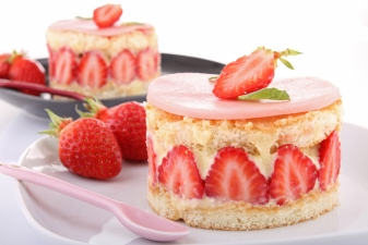 Strawberry Festival Dishes Sweet Treats
