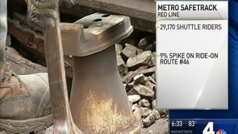 Thousands of Metro Riders Turned to Buses During Red Line Safetrack Surges