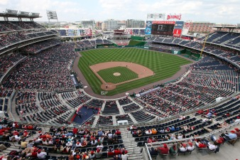 Nats Park Low on Top Stadiums List