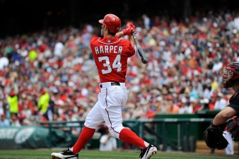 MLB History for Harper, Lombardozzi