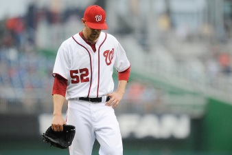 Nats' Mattheus Breaks Hand Punching Locker