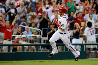 Harper's HR Sprint Fastest In Baseball