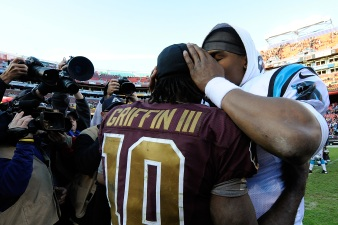 Newton Gives RGIII His Number