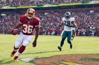 'Skins Beat Eagles, Snap Losing Skid