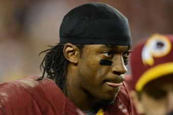 RGIII: Goal Is to Return for Week 1