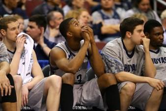 Hoyas Make Unfortunate NCAA Tournament History