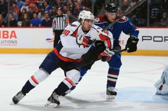 Caps' Second-Line Center Race Becomes More Clear