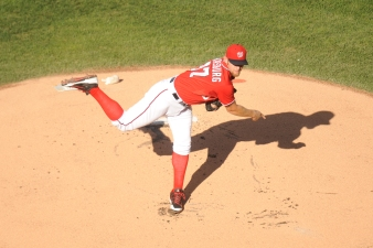 Strasburg To Start Game 1 Against Giants