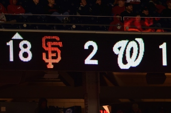 Nats, Giants Play Longest Playoff Game Ever