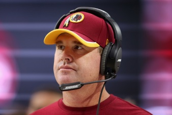 Jay Gruden: Redskins 'Just Got to Keep Grinding'