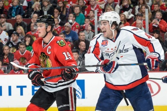 Caps' Wilson, Laich Could Return From Injuries Fri.