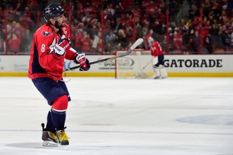 Ovechkin Propels Himself to NHL Goal-Scoring Lead
