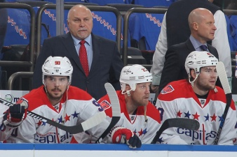 Caps' Trotz Looks to Close Series