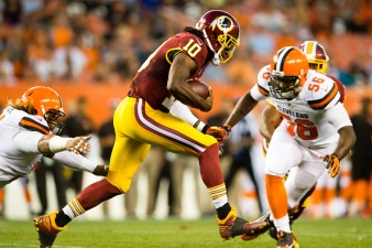 Redskins Beat Browns, 20-17