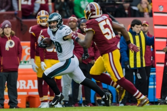 Redskins Season Ends With Shutout Loss to Eagles