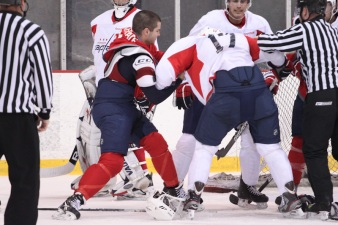 Tempers Flare During Caps' Development Camp
