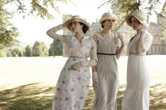 Costumes of 'Downton Abbey' on Display