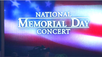 Rehearsal for National Memorial Day Concert Held