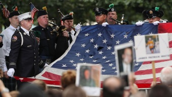 NYC Holds Memorial Service on 9/11 Anniversary