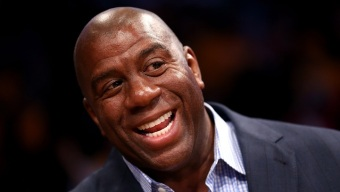 Magic Johnson Takes HIV/AIDS Message to Howard