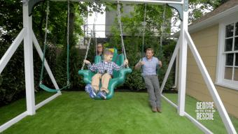The Week: Making the Hayden's Backyard Safe