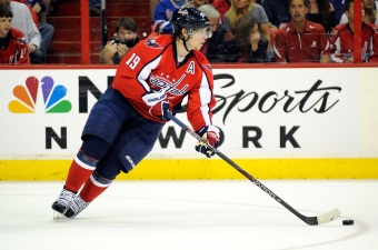 Caps' Backstrom To Join Ovechkin In Russia