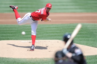 Johnson Tells Strasburg Shutdown Looming