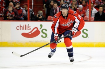 Caps' Brouwer Sets Example, Leads By It